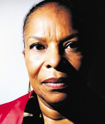 Christiane Taubira, à Paris, 5 novembre 2013 (Photo Fred Kihn) - JPEG - 90 ko